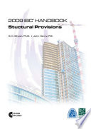 2009 IBC Handbook Structural Provisions  ICC International Code Council  2009