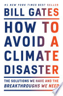 Book How to Avoid a Climate Disaster