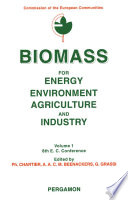 Biomass for Energy  Environment  Agriculture and Industry