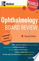 Ophthalmology Board Review  Pearls of Wisdom  Second Edition