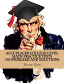 Accuplacer College Level Math Practice Tests