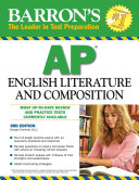 Barron s AP English Literature and Composition Tips On Essay Writing And Includes