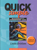 Quick  Simple Microsoft PowerPoint 2000