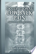 Occupational Low Back Pain