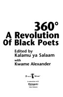 360    a revolution of Black poets