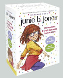 Junie B  Jones Complete First Grade Collection  Books 18 28 with Paper Dolls in Boxed Set
