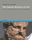 The Social History Of Art