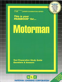 This Is Your Passbook For    Motorman