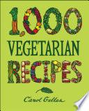 1 000 Vegetarian Recipes