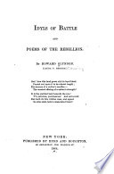 Idyls of Battle and Poems of the Rebellion Book PDF