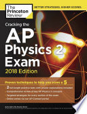 Cracking The Ap Physics 2 Exam 2018 Edition