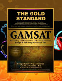 Gold Standard GAMSAT Reasoning in Humanities and Social Sciences, Essays