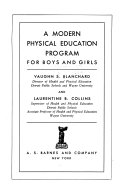 A Modern Physical Education Program for Boys and Girls