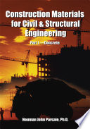 Construction Materials For Civil Structural Engineering