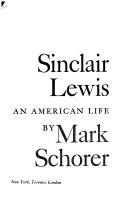 Sinclair Lewis an American Life