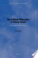 The Political Philosophy of Zhang Taiyan