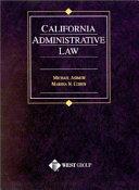 California Administrative Law