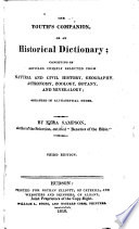 The Youth s Companion  Or  An Historical Dictionary