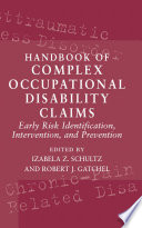 Handbook of Complex Occupational Disability Claims