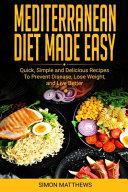Mediterranean Diet Made Easy