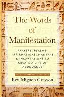 The Words Of Manifestation