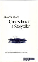 Confession Of A Storyteller
