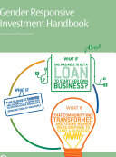 Gender Responsive Investment Handbook