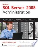 SQL Server 2008 Administration
