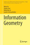Information Geometry