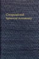 Computational Spherical Astronomy book