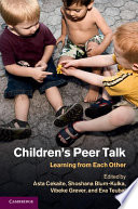 Children s Peer Talk