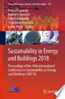 Sustainability In Energy And Buildings 2018