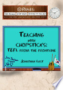 Teaching With Chopsticks  TEFL From The Frontline