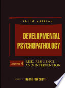 Developmental Psychopathology Risk Resilience And Intervention