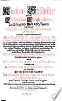 Kirchen-Geschichte, das ist: Catholisches Christenthum, durch die ganze Welt ausgebreitet ... erstlich beschriben ... Durch Cornelium Hazart, Nunmehr aber Auß der Nider- in die Hoch-Teutsche Sprache übers. und vermehret