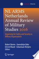 NL ARMS Netherlands Annual Review of Military Studies 2016