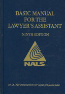 Nals Basic Manual for the Lawyer s Assistant