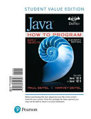Java How to Program  Early Objects  Student Value Edition