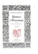Historia e genealogia