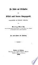 Die Städte und Ortschaften der Eifel und deren Umgebung, topographisch und historisch beschrieben ; Des zweiten Bandes erste Abtheilung