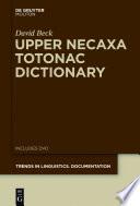 Upper Necaxa Totonac Dictionary