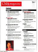 CMA Magazine