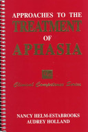 Approaches to the Treatment of Aphasia