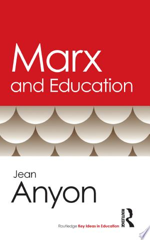 Marx and Education - ISBN:9781136816567