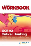 OCR A2 Critical Thinking