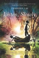 Book Listen, Slowly