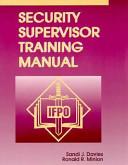 The Security Supervisor Training Manual