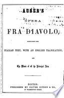Auber s Opera Fra Diavolo