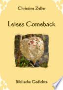 Leises Comeback - Biblische Gedichte