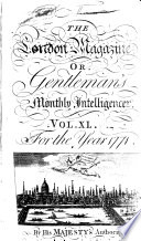 The London Magazine  Or  Gentleman s Monthly Intelligencer Book PDF